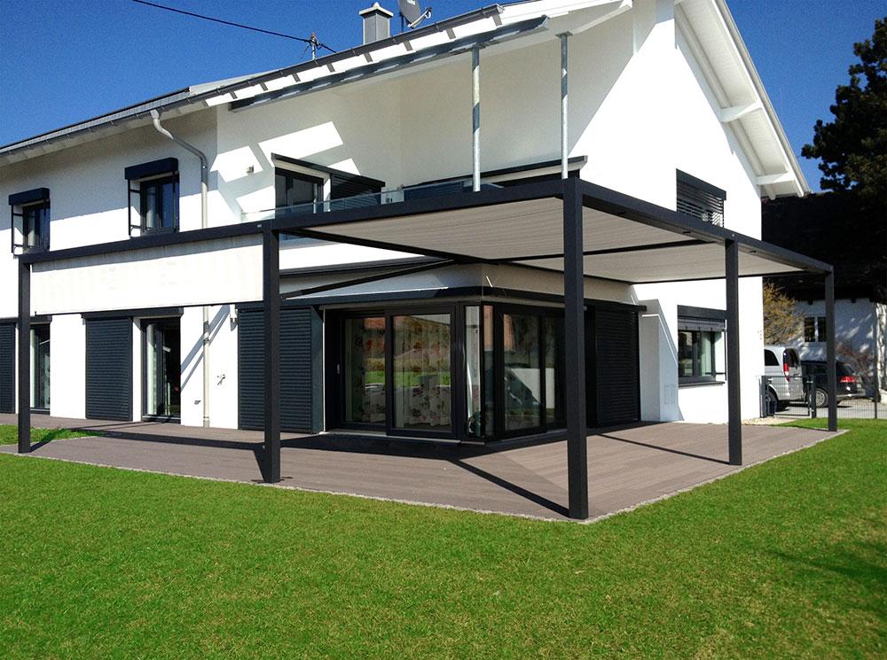 cube beschattung terrassen berdachung. Black Bedroom Furniture Sets. Home Design Ideas