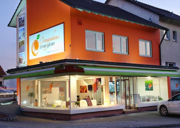 Orangenhaus Servicegebiete